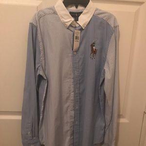 Brand new Ralph Lauren Polo shirt size XL 18-20